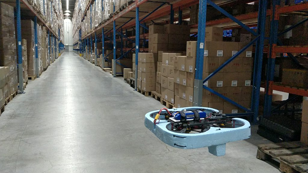 Drone based inventory counting
